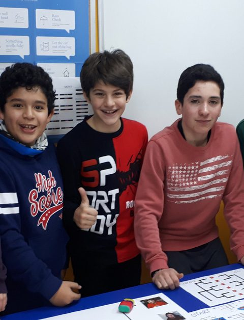 CREATIVE ENGLISH (ages 9 – 12)