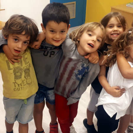 Creative English Class (ages 3 – 5)