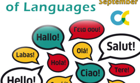 European Day of Languages / 26th September